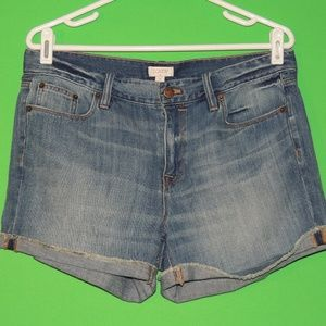J.CREW Womens Size 28 Denim Jean Shorts NEW